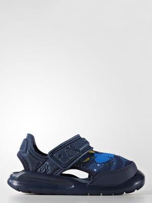 Сандалии синие | 4345979