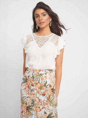 Блуза белая | 5142658
