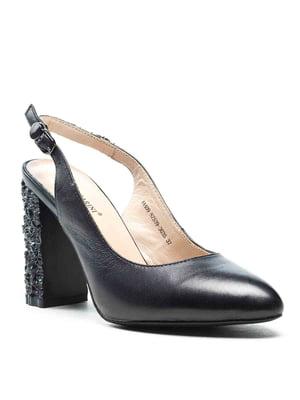 Туфлі чорні | 5128483