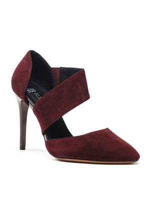 Туфли бордовые | 5141665