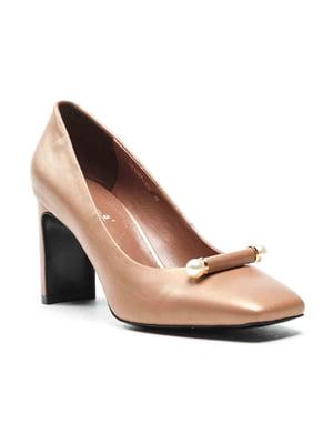 Туфли бежевые | 4648988