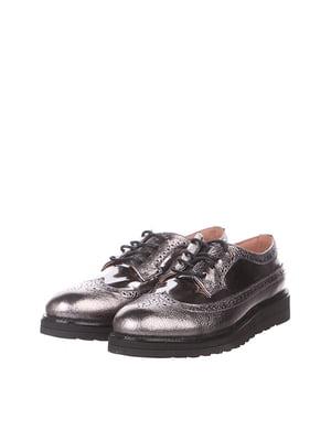 Туфли цвета стали | 5143047