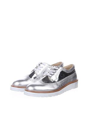 Туфли цвета металла   5143051