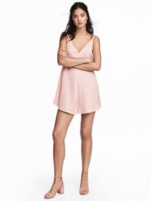 Комбинезон светло-розовый | 5132835
