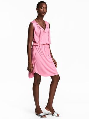 Платье розовое | 5132911