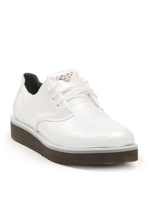 Туфлі біло-перламутрового кольору | 5134736