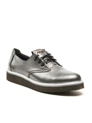 Туфли черно-перламутрового цвета | 5134738