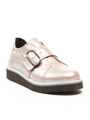 Туфли кофейно-перламутрового цвета | 5134740