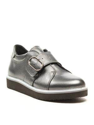 Туфлі чорно-перламутрового кольору | 5134741