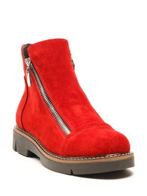 Ботинки красные   5142885