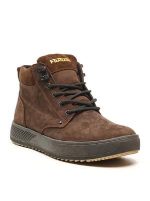 Ботинки коричневые | 5142873