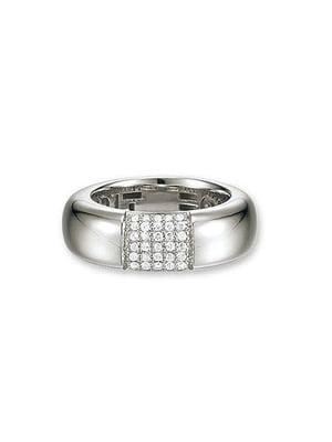 Каблучка срібна з цирконіями | 4157590
