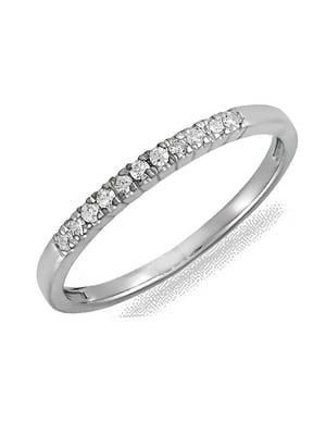 Каблучка з діамантами | 4488241