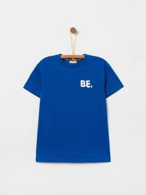 Футболка синя | 5149088