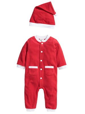 Карнавальный костюм «Санта Клаус» красный   5148066