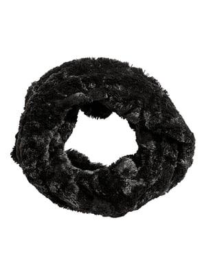 Шарф-хомут черный | 5148136