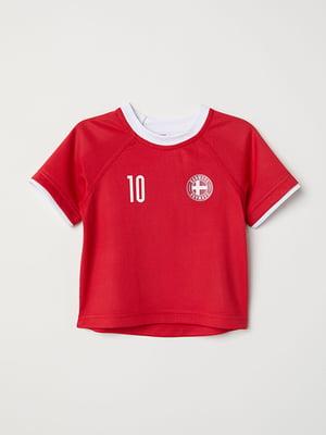 Футболка червона | 5148478