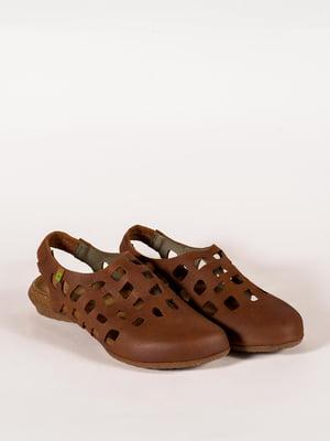 Босоножки коричневые | 5150320