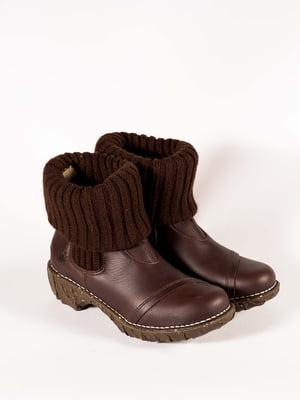Черевики коричневі | 5150338