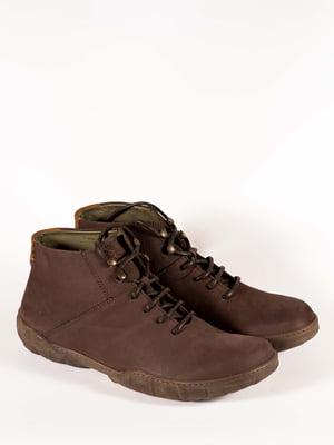 Черевики коричневі | 5150341