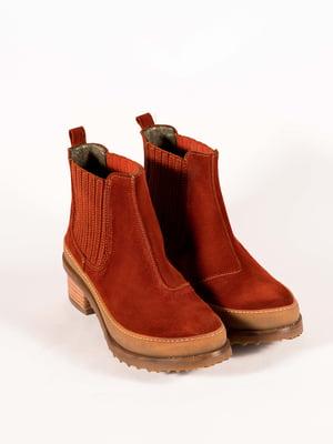Ботинки рыжие | 5150346