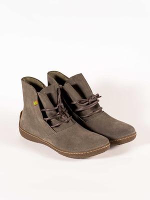 Ботинки серые | 5150350