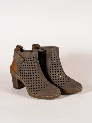 Ботинки серые | 5150351