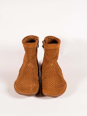 Ботинки рыжие   5150352