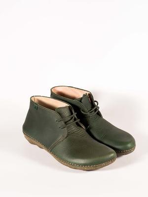 Ботинки цвета хаки   5150353