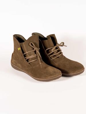 Ботинки цвета хаки | 5150355