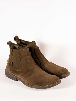 Ботинки цвета хаки | 5150356