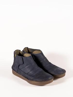Ботинки синие | 5150358