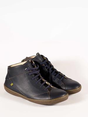 Ботинки синие   5150359