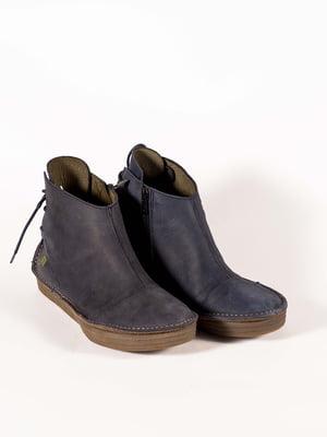 Ботинки синие | 5150363
