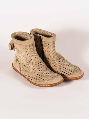 Ботинки бежевые | 5150364