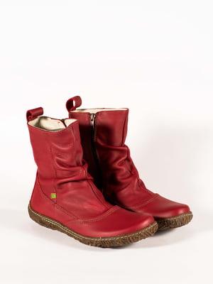 Ботинки красные | 5150371