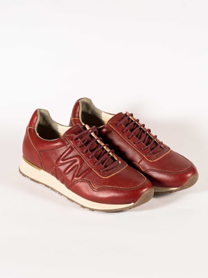 Ботинки бордовые | 5150376