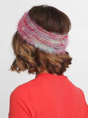 Повязка на голову розовая | 5014590