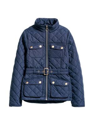 Куртка темно-синя | 5148473