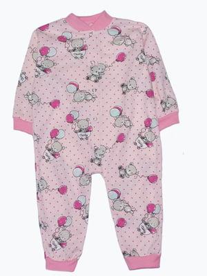 Человечек розовый с принтом | 5151355