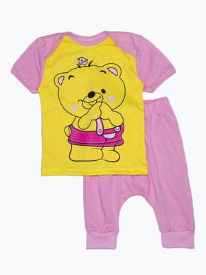 Комплект: футболка та бриджі | 5151372