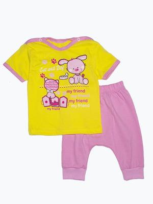 Комплект: футболка и бриджи | 5151376