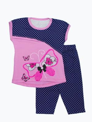 Комплект: футболка и бриджи | 5151409