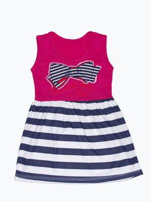 Сукня комбінованого забарвлення | 5151459