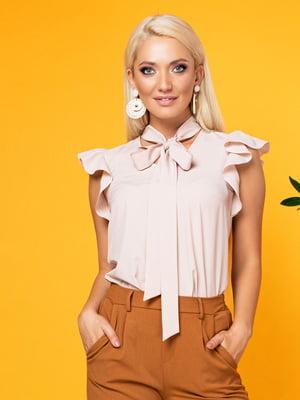 Блуза кольору пудри   5151619