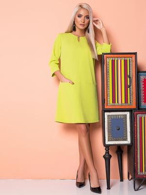 Платье салатовое | 5151827