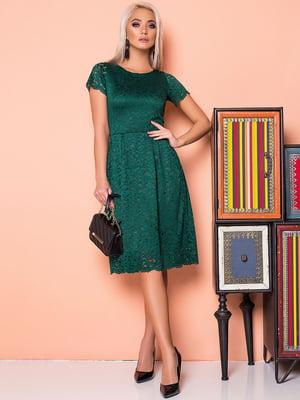 Платье зеленое | 5151829