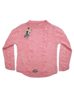 Свитер розовый | 5152465
