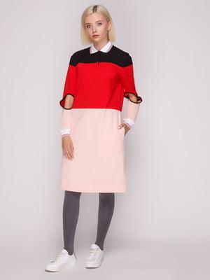 Платье трехцветное   5149398