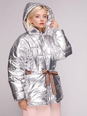 Куртка срібляста | 5126238